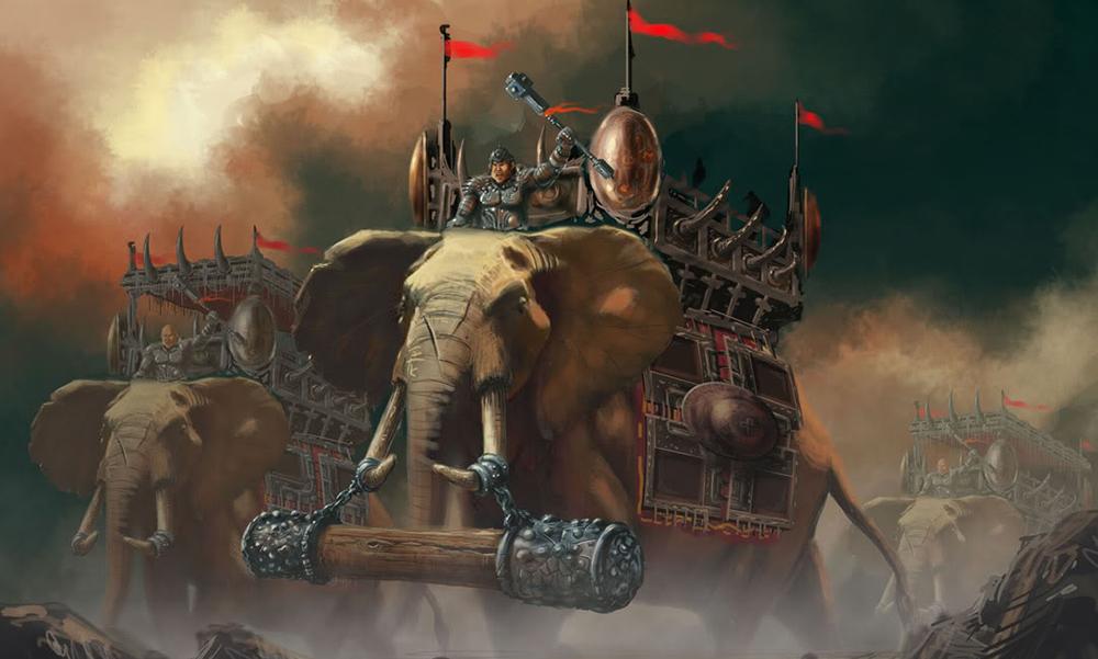War elephant alexander