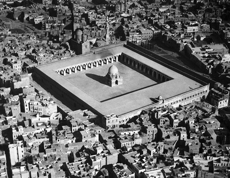 جامع أحمد بن طولون قديما
