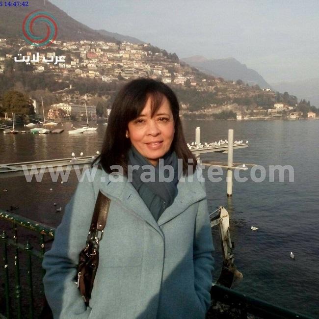 السيدة سوزانا الشامي ابنة شقيقة ميمو وجمال رمسيس