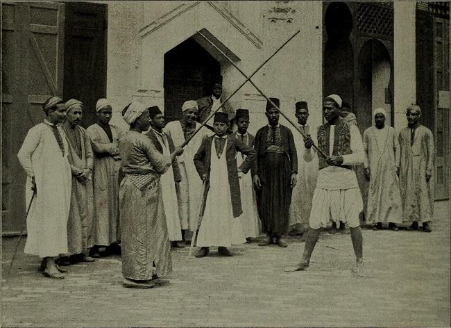 مصريون ممن شاركوا بالمعرض الكولومبي العالمي 1893