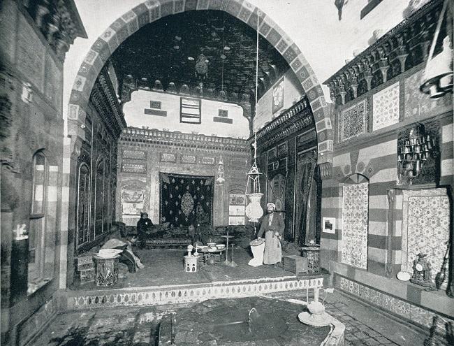 نسخة من قصر جمال الدين الذهبي التي أقامها هيرز بالجناح المصري